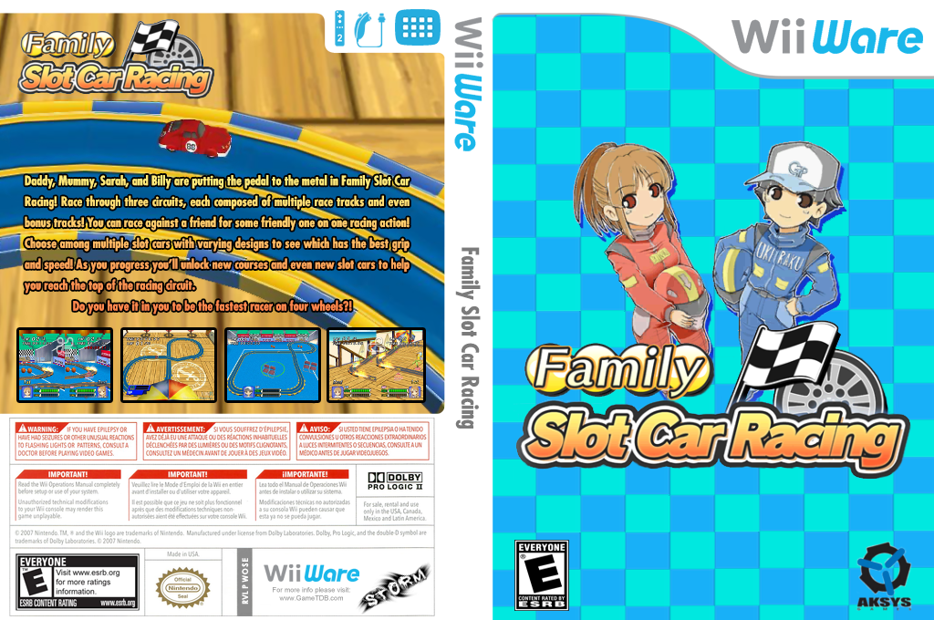 Family Slot Car Racing Wii coverfullHQ (WOSE)