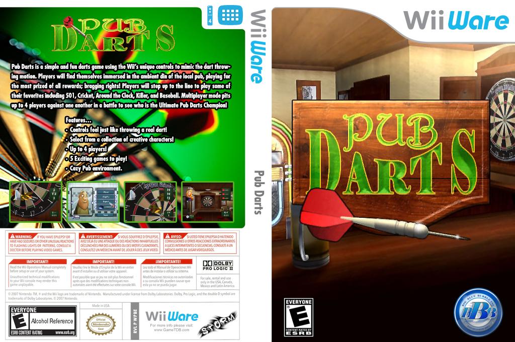 Pub Darts Wii coverfullHQ (WPBE)