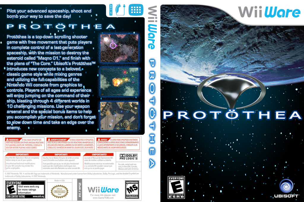 Protöthea Wii coverfullHQ (WPQE)