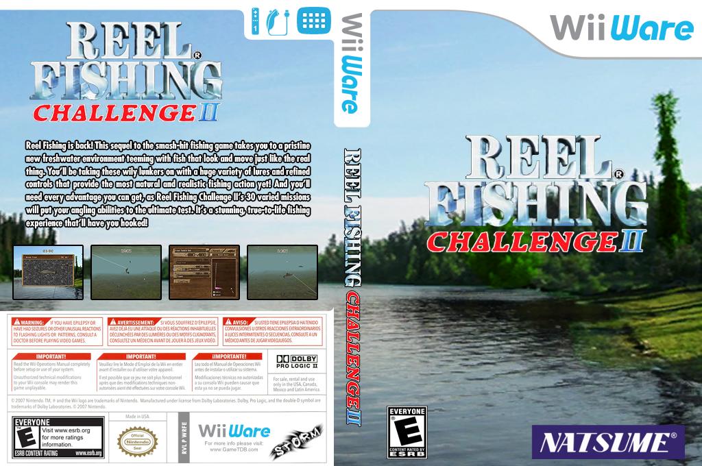 Reel Fishing Challenge II Wii coverfullHQ (WRFE)