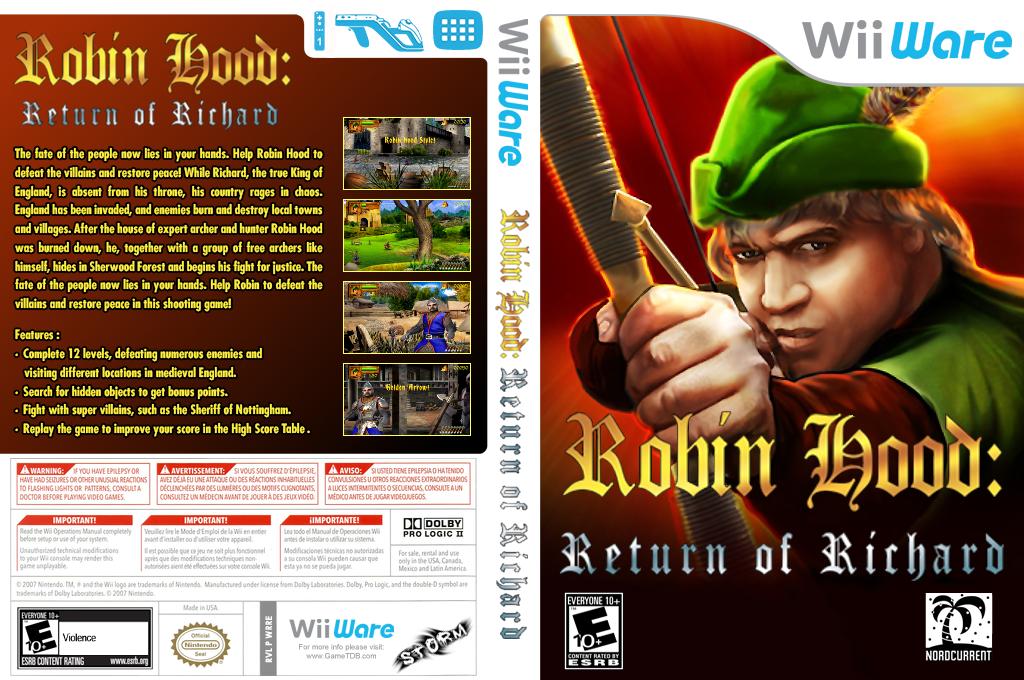 Robin Hood: The Return of Richard Wii coverfullHQ (WRRE)