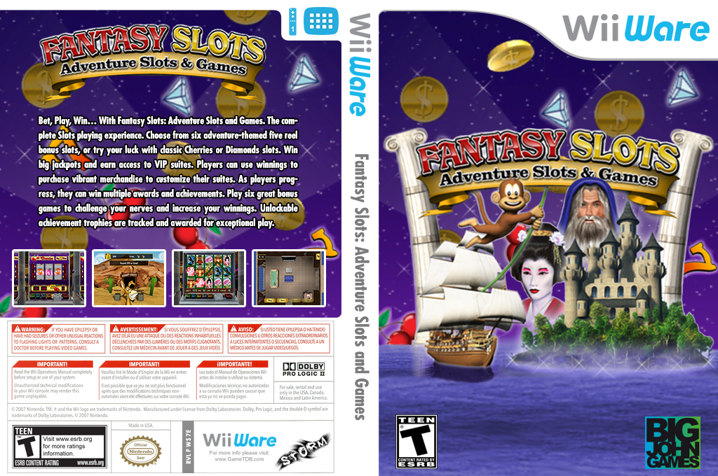 Fantasy Slots: Adventure Slots and Games Wii coverfullHQ (WS7E)