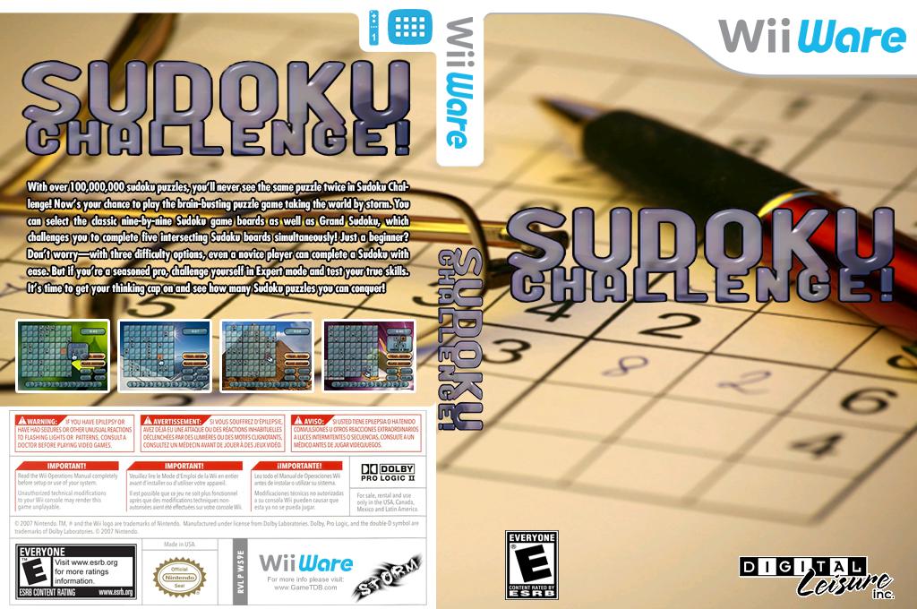 Sudoku Challenge! Wii coverfullHQ (WS9E)