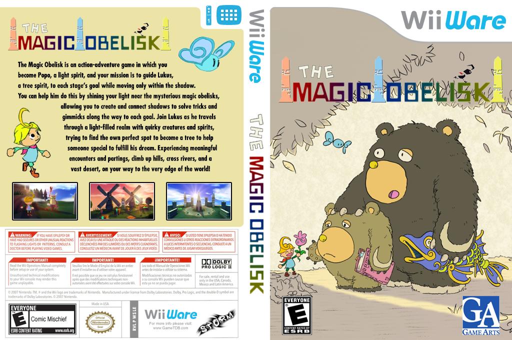 The Magic Obelisk Wii coverfullHQ (WSLE)