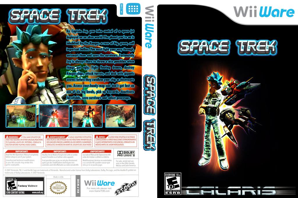 Space Trek Wii coverfullHQ (WSRE)