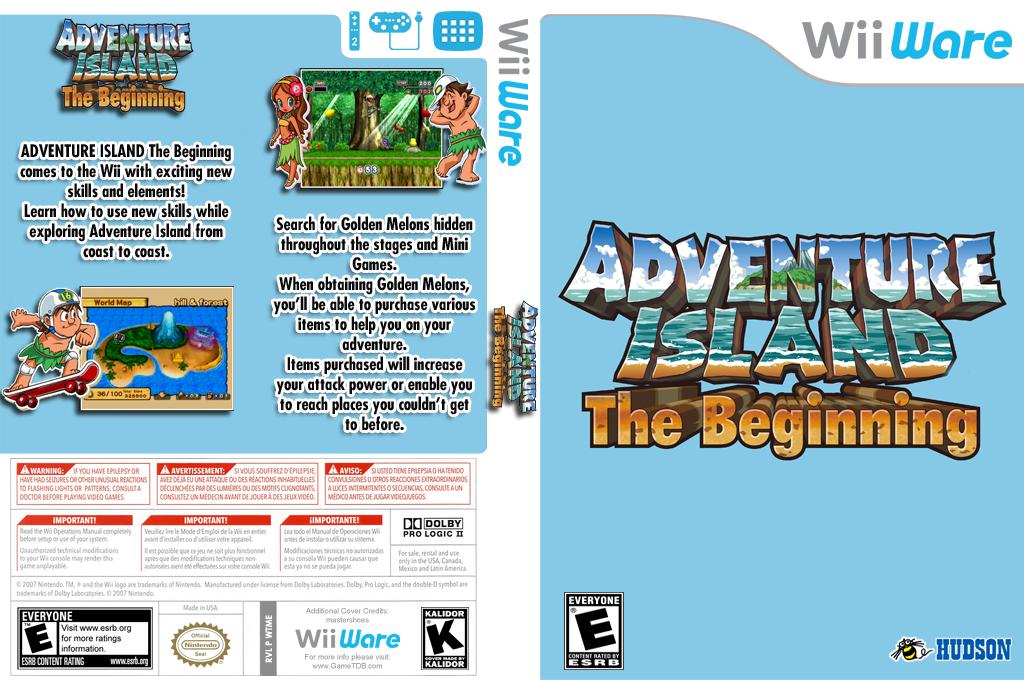 Adventure Island: The Beginning Wii coverfullHQ (WTME)