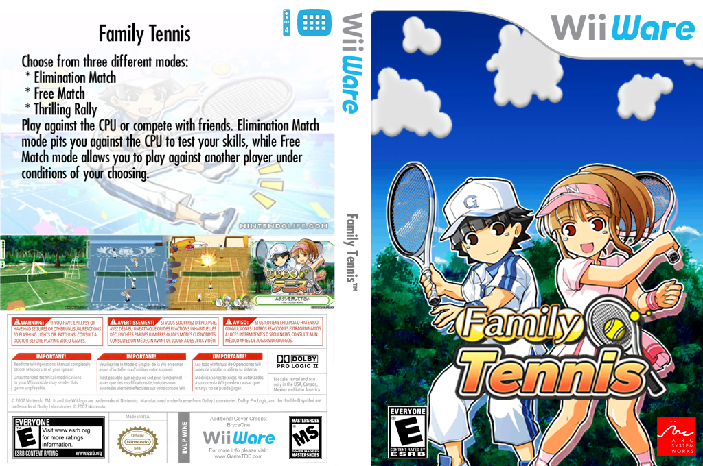 Family Tennis Wii coverfullHQ (WTNE)