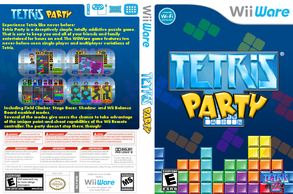 Tetris Party Wii coverfullHQ (WTPE)