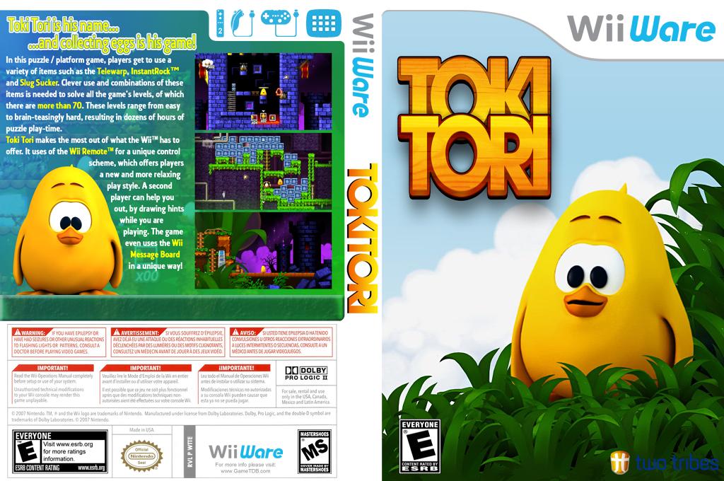 Toki Tori Wii coverfullHQ (WTTE)