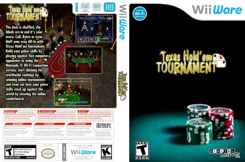 Texas Hold'em Tournament Wii coverfullHQ (WTXE)