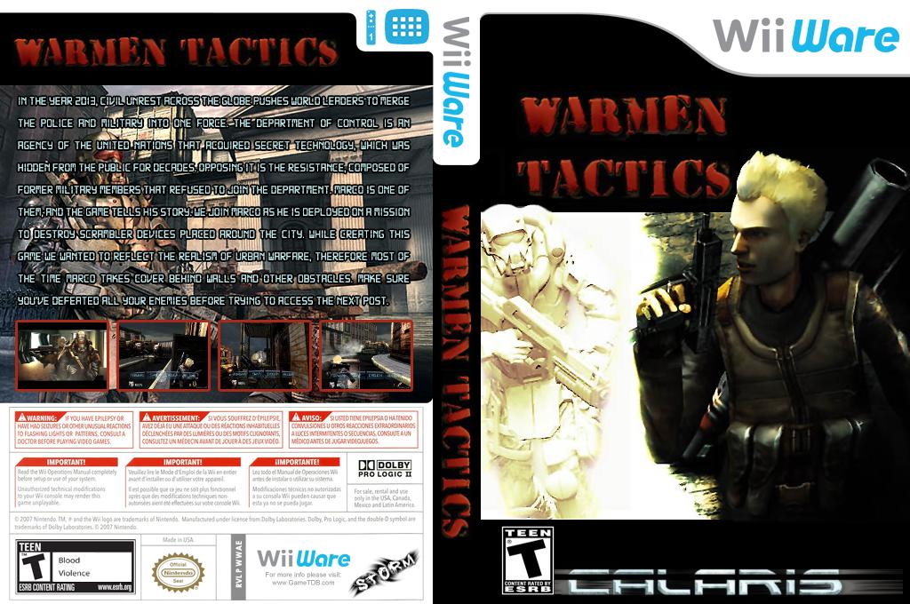 Warmen Tactics Wii coverfullHQ (WWAE)