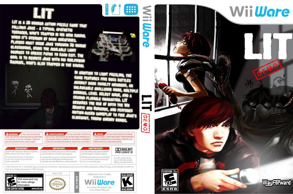 Lit (Demo) Wii coverfullHQ (XH7E)