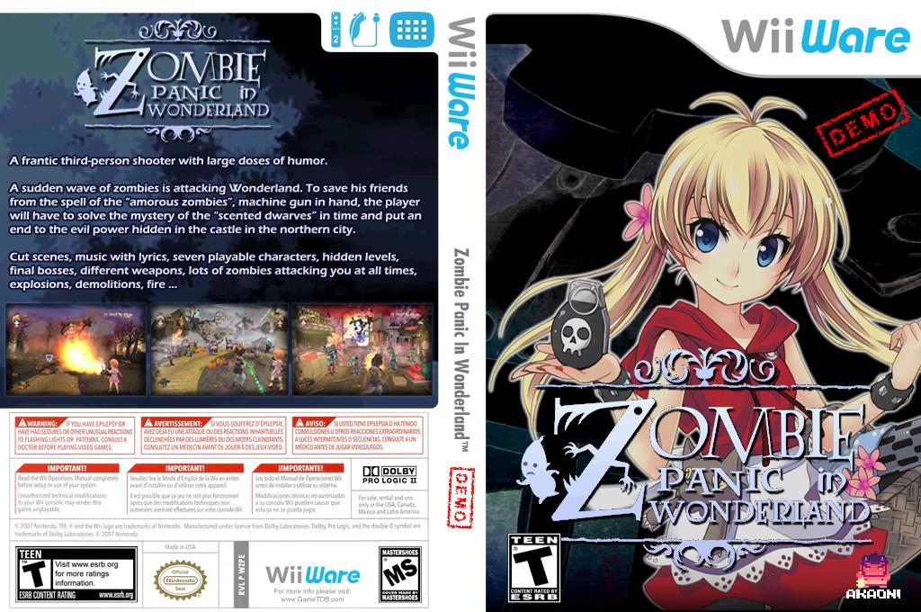 Zombie Panic (Demo) Wii coverfullHQ (XHQE)