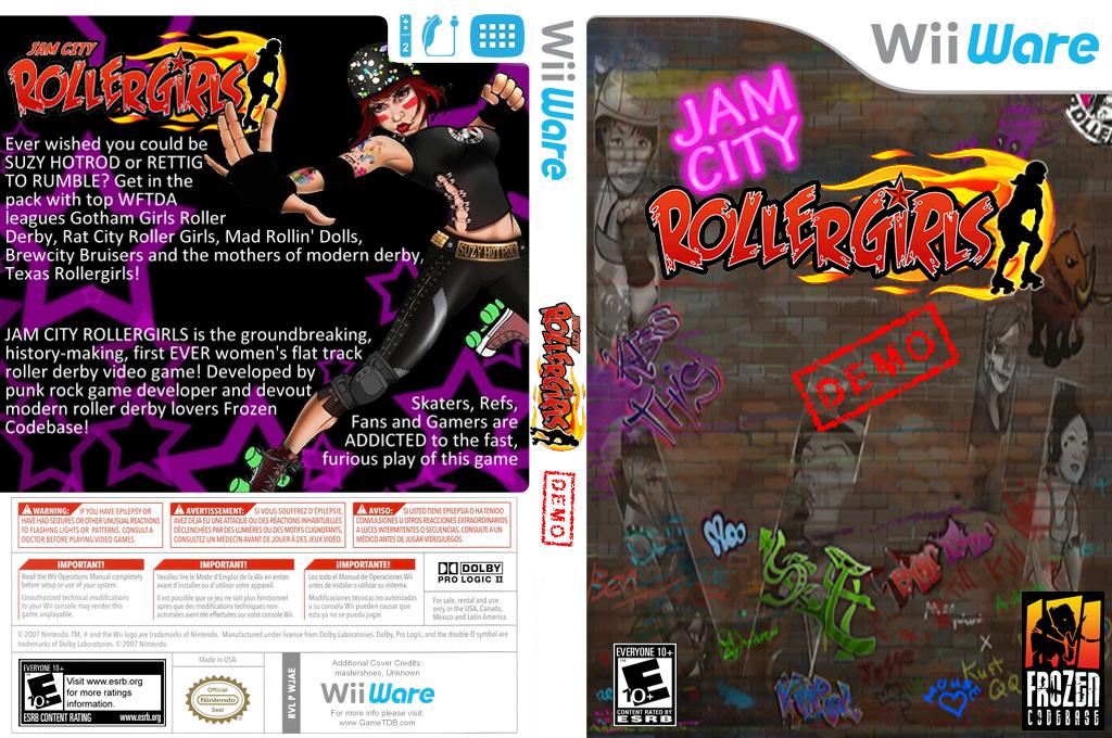 Jam City (Demo) Wii coverfullHQ (XI8E)