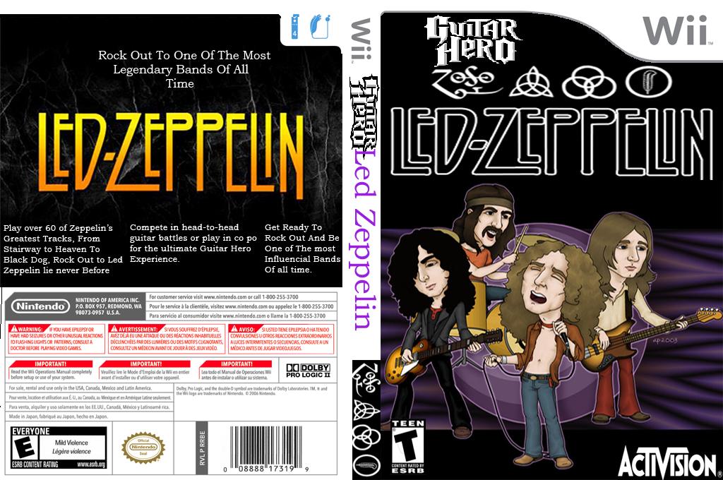 Guitar Hero III Custom:Led Zeppelin Wii coverfullHQ (RGZC52)