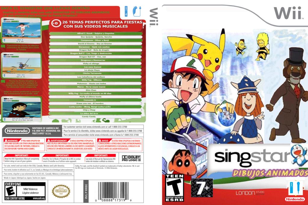 Sing IT: Dibujos Animados Wii coverfullHQ (SGI1DB)
