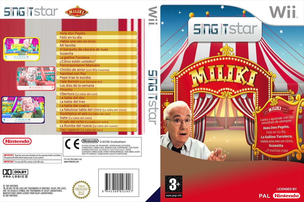 Sing It Star: Miliki Wii coverfullHQ (SGI1ML)