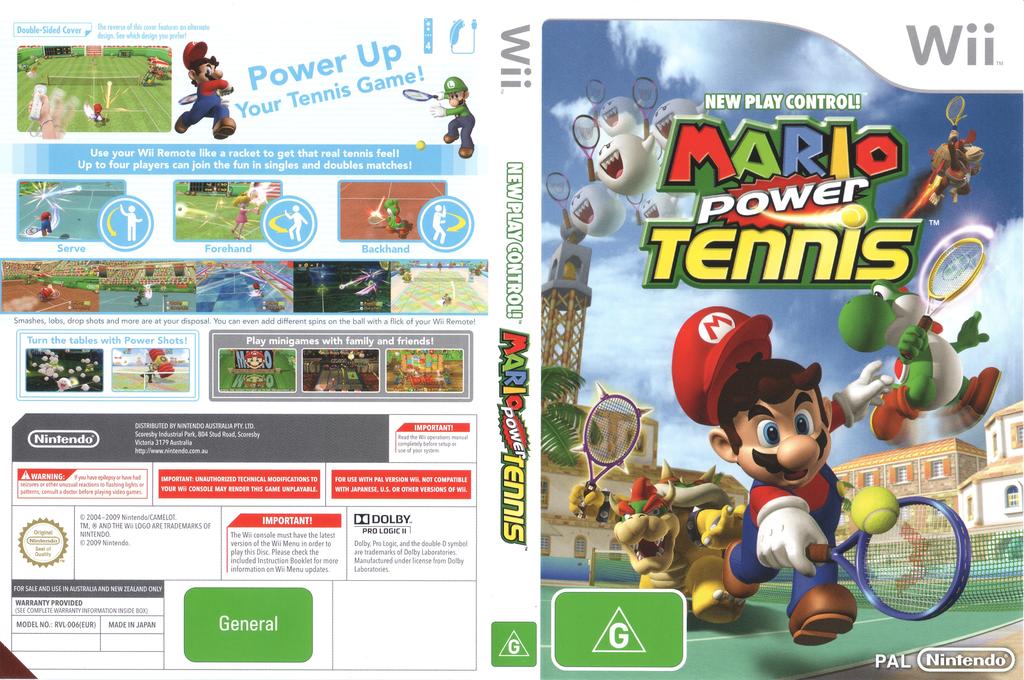 Mario Power Tennis Wii coverfullHQ2 (RMAP01)