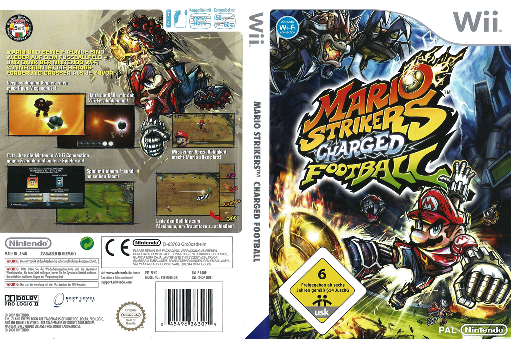 Mario Strikers Charged Football Wii coverfullHQ2 (R4QP01)