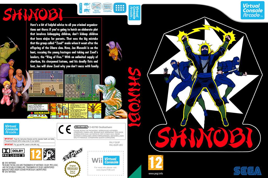Shinobi Wii coverfullHQ2 (E63P)