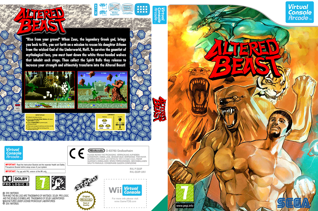 Altered Beast Wii coverfullHQ2 (E6XP)