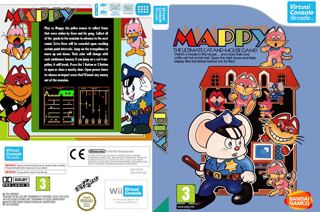 Mappy Wii coverfullHQ2 (E73P)
