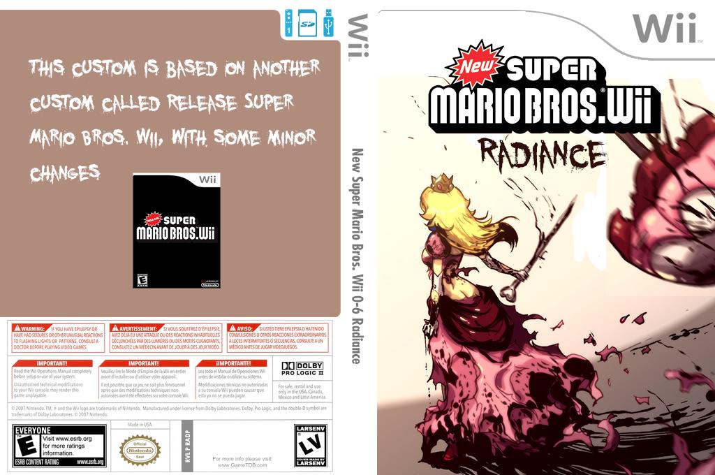 New Super Mario Bros. Wii 0-6 Radiance Wii coverfullHQ2 (RADP01)