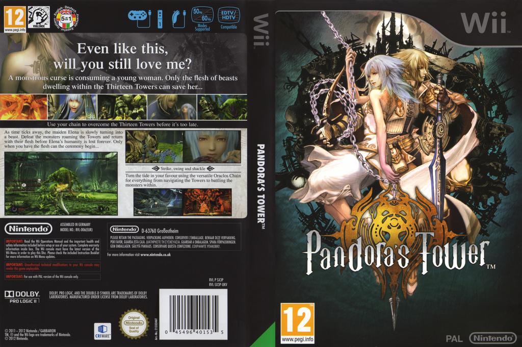 Pandora's Tower Undub Wii coverfullHQ2 (SX3PUD)