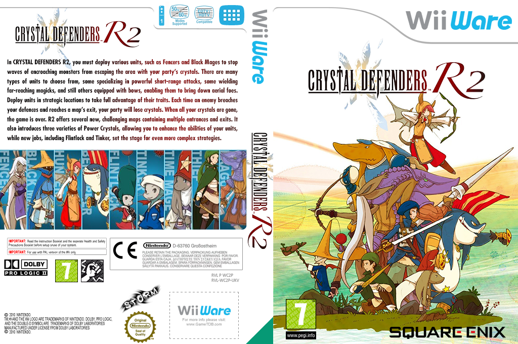 Crystal Defenders R2 Wii coverfullHQ2 (WC2P)
