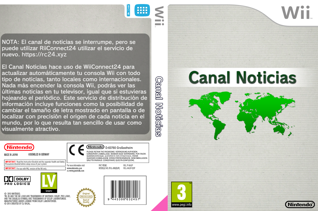 Canal Noticias Wii coverfullHQ2 (HAGP)