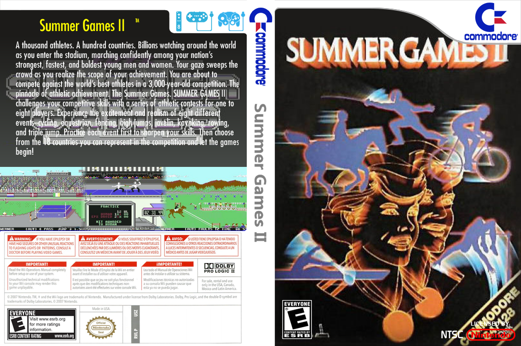 Summer Games II Wii coverfullHQ2 (C96E)