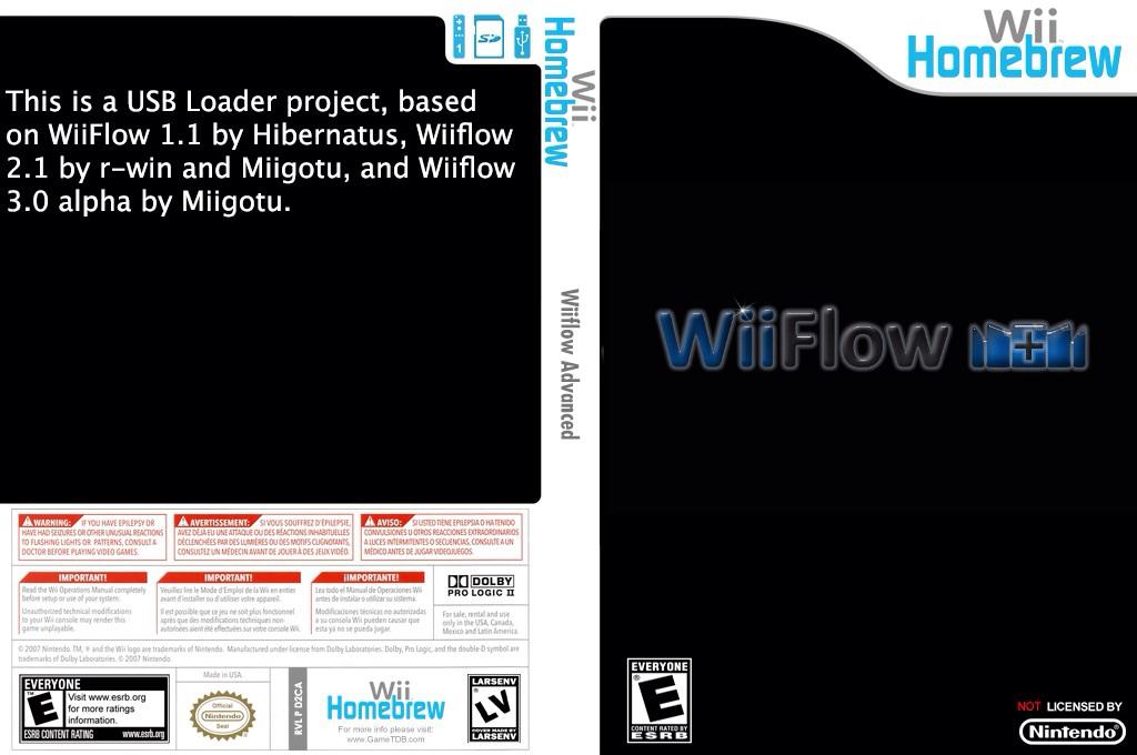 WiiFlow Advanced Wii coverfullHQ2 (D2CA)