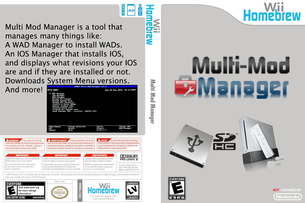 Multi Mod Manager Wii coverfullHQ2 (DMUA)