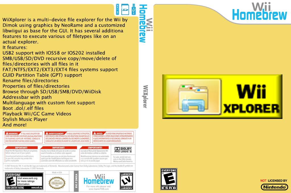 WiiXplorer Wii coverfullHQ2 (DWXA)