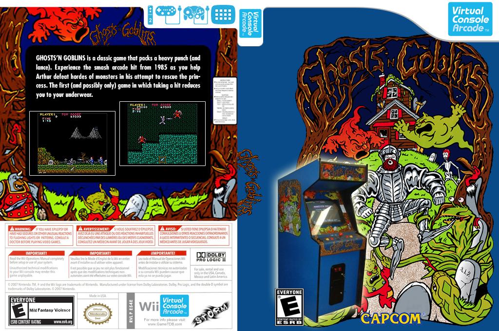 Ghosts 'n Goblins Wii coverfullHQ2 (E54E)