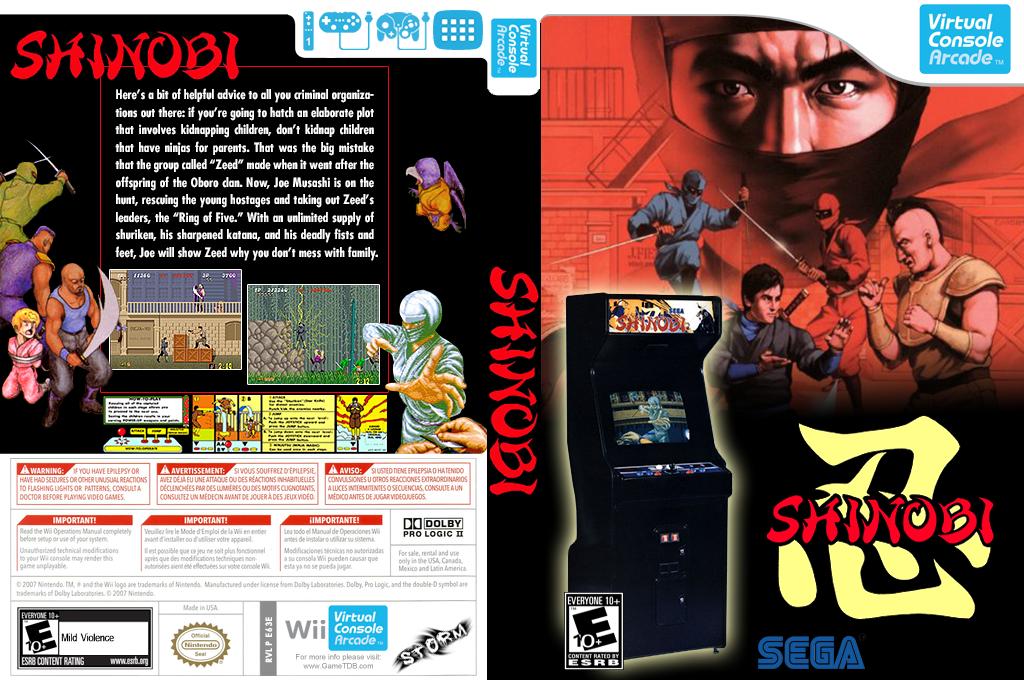 Shinobi Wii coverfullHQ2 (E63E)