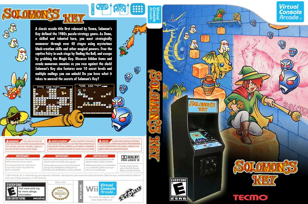 Solomon's Key Wii coverfullHQ2 (E6NE)