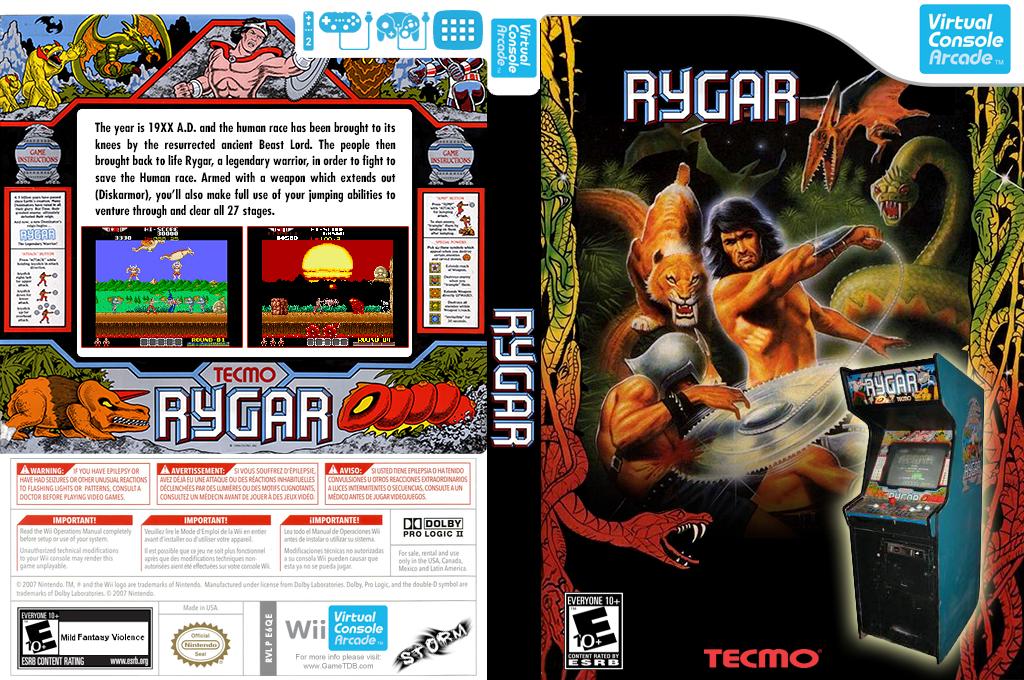 Rygar Wii coverfullHQ2 (E6QE)
