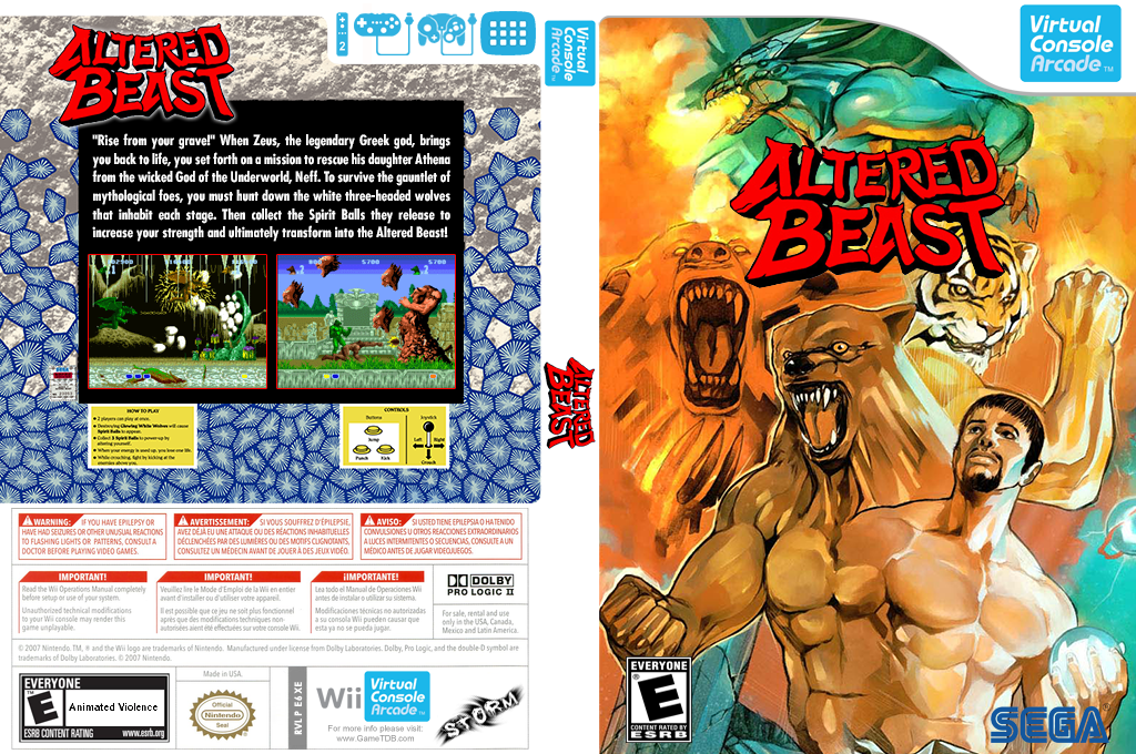 Altered Beast Wii coverfullHQ2 (E6XE)