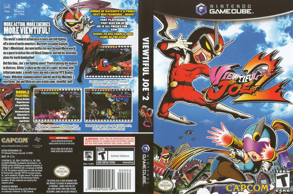 Viewtiful Joe 2 Wii coverfullHQ2 (G2VE08)