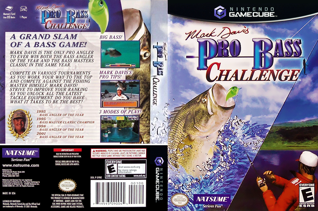 Mark Davis Pro Bass Challenge Wii coverfullHQ2 (G9BEE9)