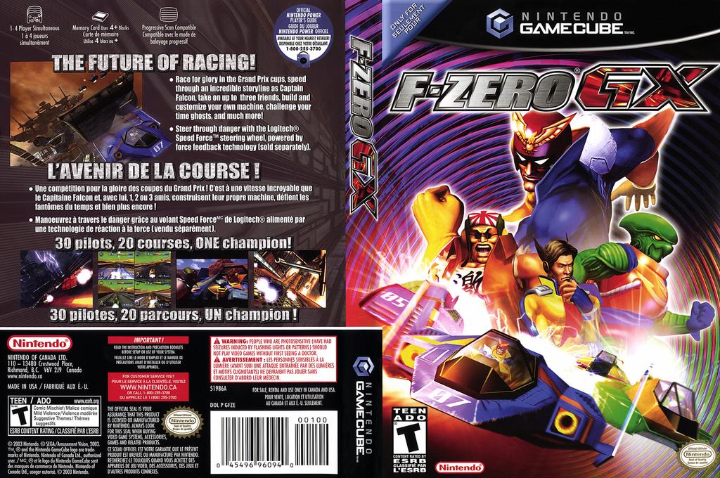 F-Zero GX Wii coverfullHQ2 (GFZE01)
