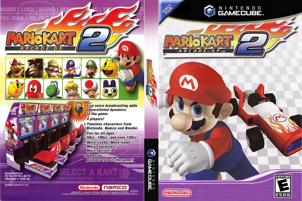 Mario Kart Arcade GP 2 Wii coverfullHQ2 (GGPE02)