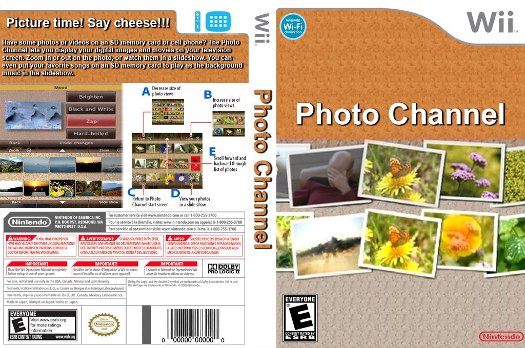 Photo Channel Wii coverfullHQ2 (HAYA)