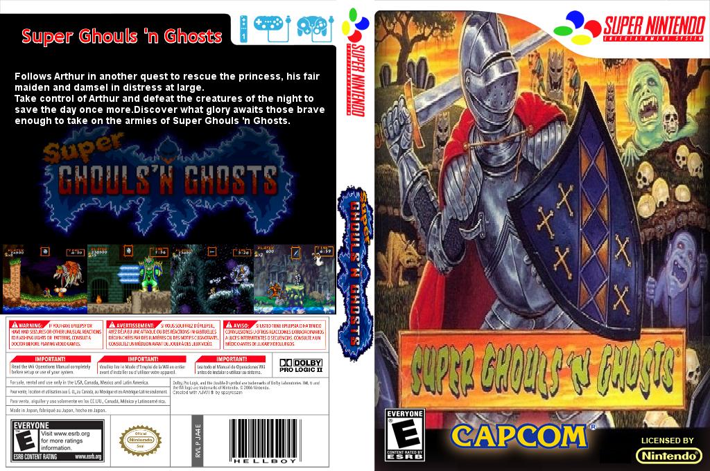 Super Ghouls 'n Ghosts Wii coverfullHQ2 (JA4E)