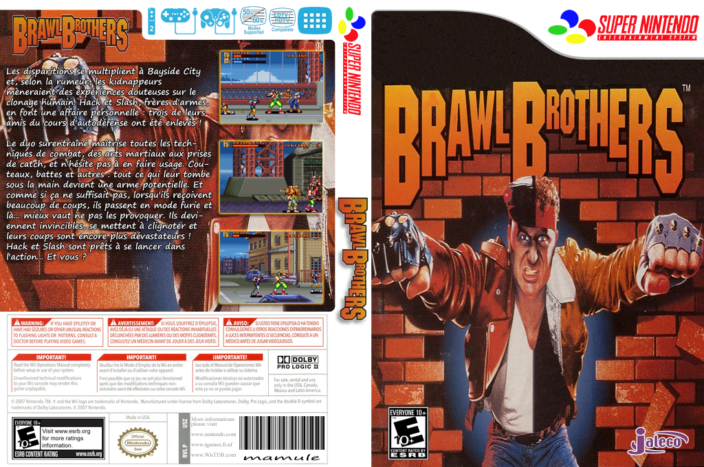 Brawl Brothers Wii coverfullHQ2 (JD5E)