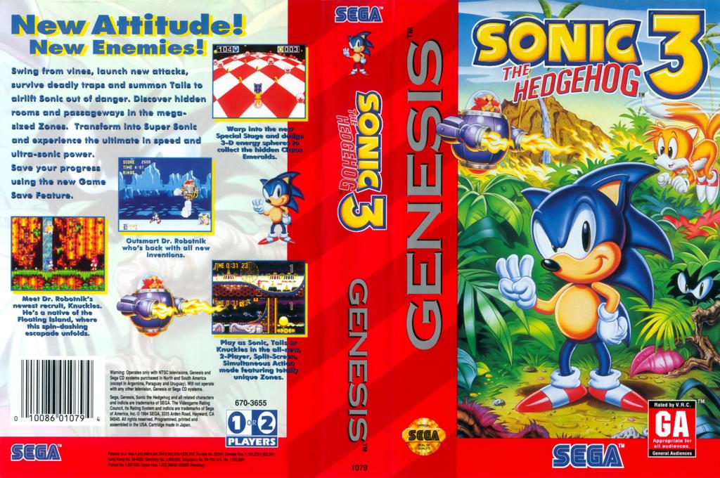 Sonic the Hedgehog 3 Wii coverfullHQ2 (MBME)
