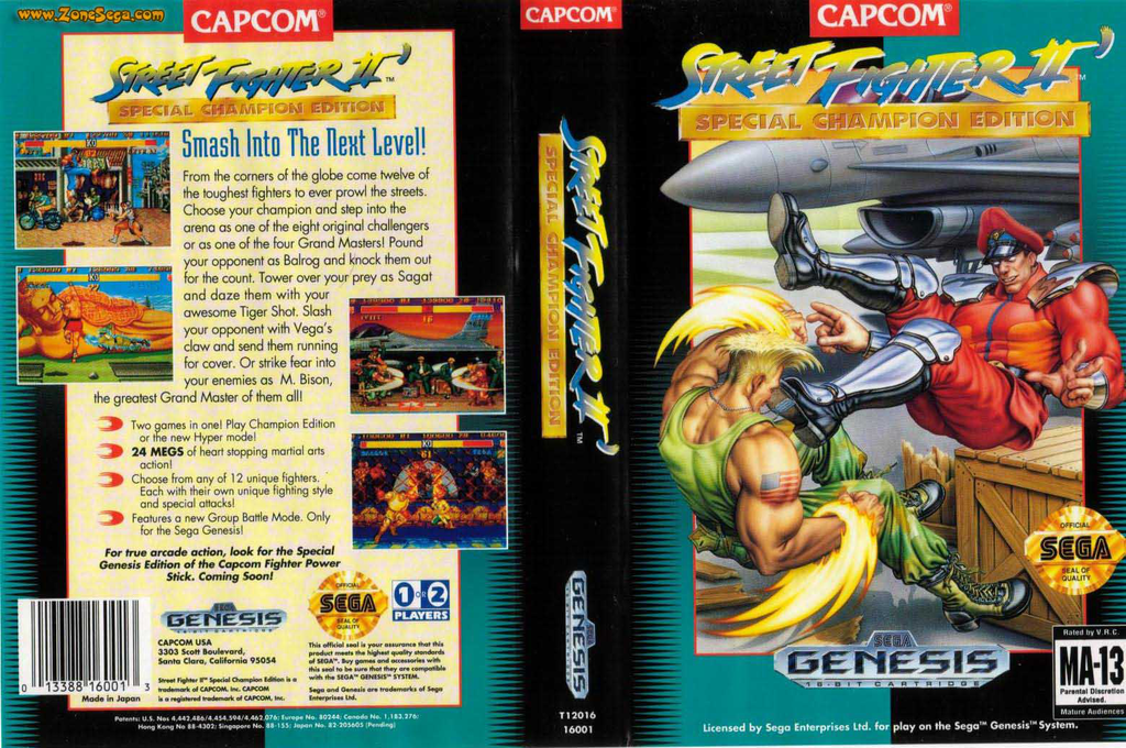 Street Fighter II': Special Champion Edition Wii coverfullHQ2 (MCLE)