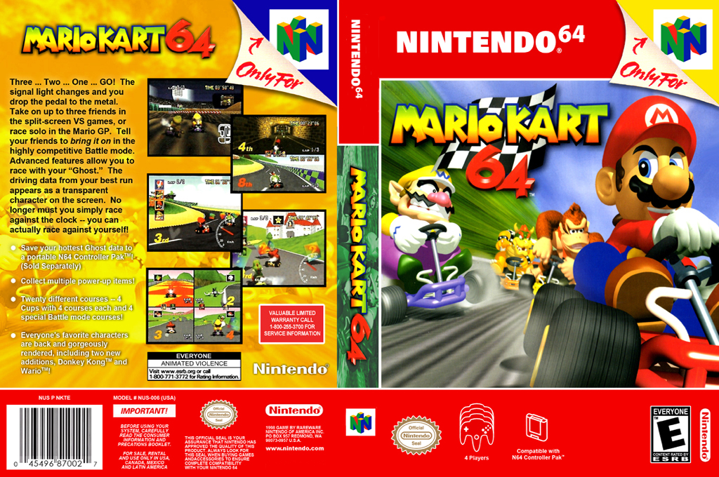 Mario Kart 64 Wii coverfullHQ2 (NABE)