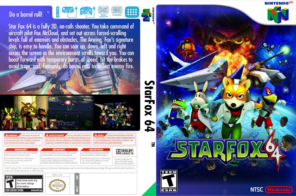 Star Fox 64 Wii coverfullHQ2 (NADE)